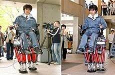 Японские ученые продемонстрировали двуногого робота
