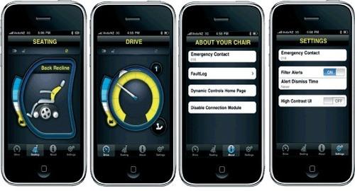 iPortal: интеграция iPhone в электроколяску