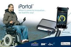 iPortal: интеграция iPhone в инвалидную коляску