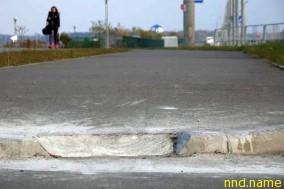 В Бресте неизвестные срезают барьеры до нуля