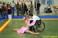 Спортивные танцы на инвалидной коляске