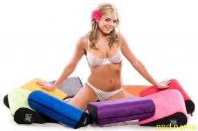 И вовсе не обязательно покупать данные изделия, такие же подушки можно сделать самим