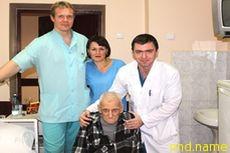 В московской больнице установили эндопротез 101-летнему пациенту