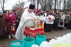 Крещенскую воду инвалидам и пожилым доставят на дом