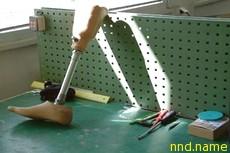 У канадца украли искусственную ногу