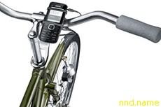 Велосипедная зарядка для мобильников