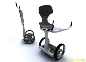 Segway-образный транспорт EAZ для людей с ограниченными возможностями