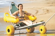 Плавающая коляска «Tiralo» - стимул поехать к морю!