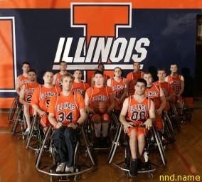Баскетбольная команда университета штата Иллинойс