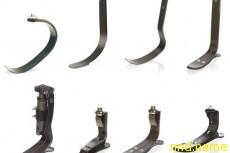 Эволюция протеза Гепард (Flex Foot Cheetah), начиная с 1981 года.