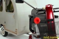 Каждому скутеру по трейлеру - mobility scooters