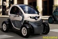 Renault Twizy - электромобиль за 7 тысяч евро