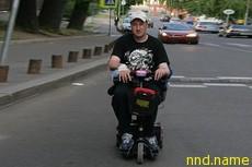 На коляске из Владивостока в Москву
