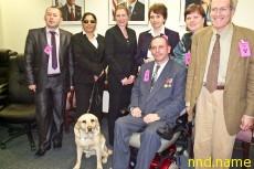 Борис Бачковский инвалид-колясочник из Минска стал Почётным гражданином города Пенсакола штата Флорида (США)
