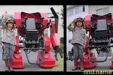 Японский пилотируемый робот для детей