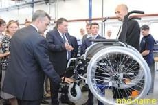В Самарской области начался выпуск германских инвалидных колясок