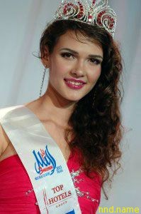Мисс Европа красавица из Беларуси - Наталья Рябова