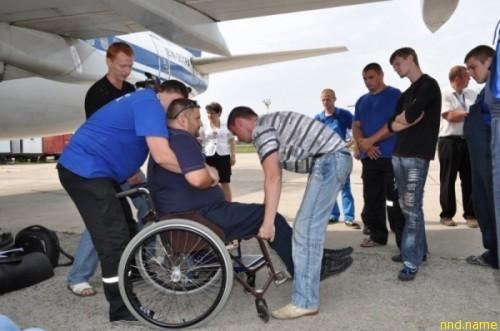 Тренинге по сопровождению инвалидов-колясочников