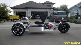Самодельный электротрицикл