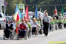 В Гомеле прошел марафон инвалидов-колясочников