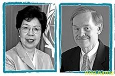 Д-р Маргарет Чен Генеральный директор Всемирной организации здравоохранения - Роберт Б. Зеллик Президент Группы Всемирного банка