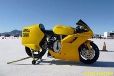 Электрический мотоцикл побил рекорд скорости