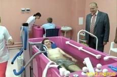 В Смоленске открылась водолечебница для детей-инвалидов