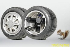 Белка в колесе: Мотор-колесо Michelin