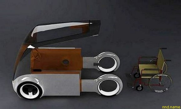 Кемпер для людей в инвалидном кресле