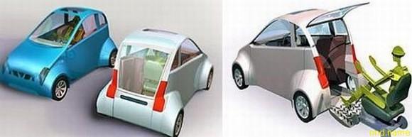 Автомобиль от Антонио Меце