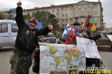Глухонемой мотоциклист, объехав весь мир, вернулся в Минск