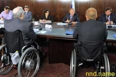 Путин встретился с представителями организаций людей с инвалидностью