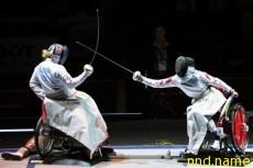На чемпионате мира по фехтованию среди инвалидов