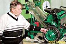 Мангуст - аэрокосмическое инвалидное кресло