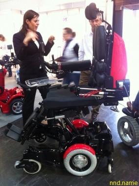 Выставка-ярмарка продукции и услуг для людей с ограниченными физическими и умственными возможностями Rehacare-2011 в Дюссельдорфе