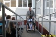 Дети-колясочники Гродно не попали в безбарьерную школу