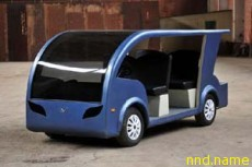В России создали новый электромобиль
