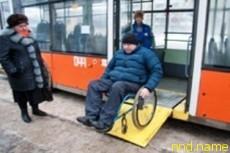 В Смоленске испытали троллейбусные пандусы