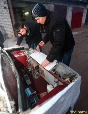 Белорусский электромобиль что-то среднее между кабриолетом и электроколяской