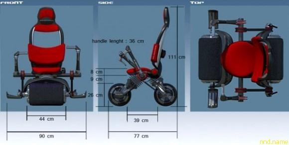 Velomaxx – детская гоночная коляска