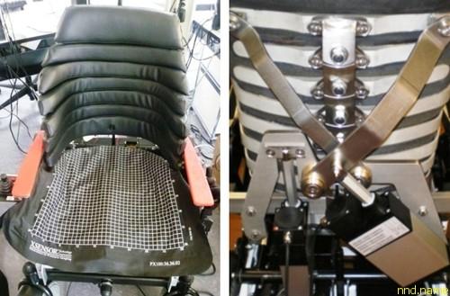 Анатомическое сиденье для электроколяски