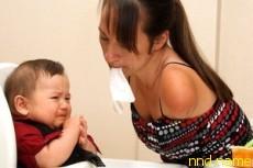 Венди счастлива, что является матерью двух здоровых энергичных малышей