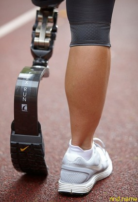 Nike представляет подошву для протеза