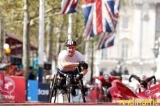 Двойная победа британцев в Лондонском марафоне колясочников 2012