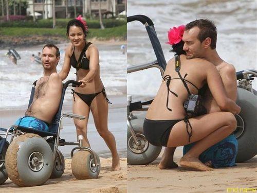 Медовый месяц Ника Вуйчича и Маяхари Канаэ