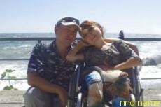 Екатерина Морозова поднимается в горы в инвалидной коляске