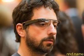 Сергей Брин, сооснователь поисковой системы Google, в очках дополненной реальности Project Glass. Фото с сайта farm8.staticflickr.com