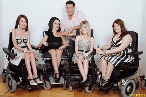 Позволить инвалиды в разных странах