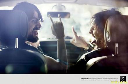 Провокационные принты о поведении водителей-инвалидов