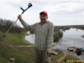 Юрий Лишаев отправился на каяке по Днепру